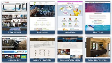 Δείγματα ιστοσελίδων-Portfolio